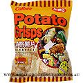 Potato Crisps with Barbecue Flavour