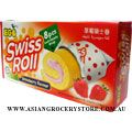 Strawberry Flavour Swiss Roll